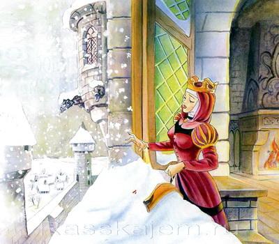 Белоснежка и семь гномов - сказка братьев Гримм