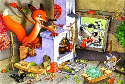 Лиса и заяц-02