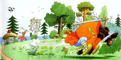 Лиса и заяц-03