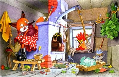 Лиса и заяц-04