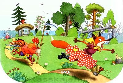 Лиса и заяц-05