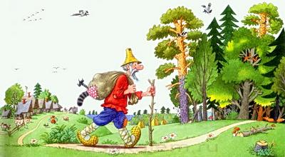 Автор сказки кот и лис