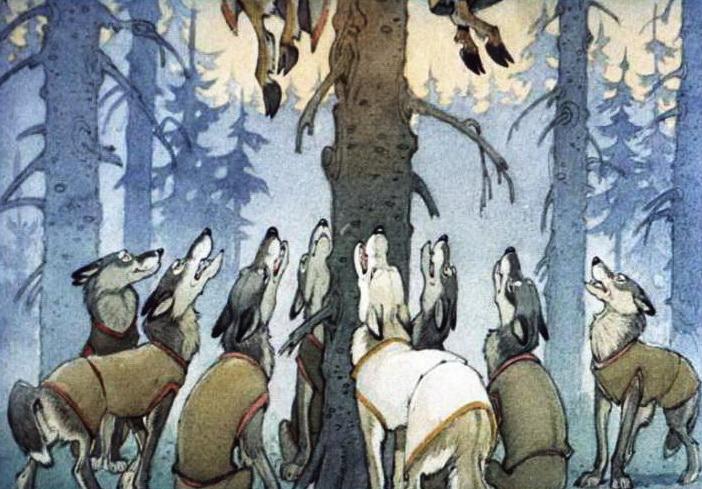 Кот - серый лоб, козёл и баран 7