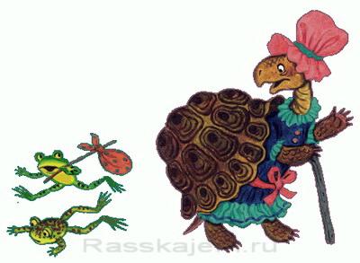 Черепаха - стихи Корнея Чуковского